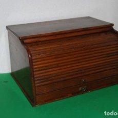 Antigüedades: ESCRITORIO DE MADERA DE SOBREMESA CON PERSIANA - SECRETER - BUREAU. Lote 146868390