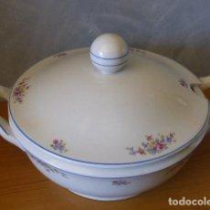 Antigüedades: SOPERA DE PORCELANA SANTA CLARA . Lote 146870326