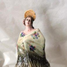 Antigüedades: ANTONIO PEYRÓ,ANTIGUA FIGURA EN PORCELANA ,FIRMADA EN BASE. Lote 146892418