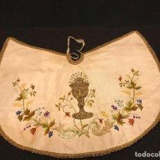 Antigüedades: CUBRE COPON O MANTILLO. Lote 146917522