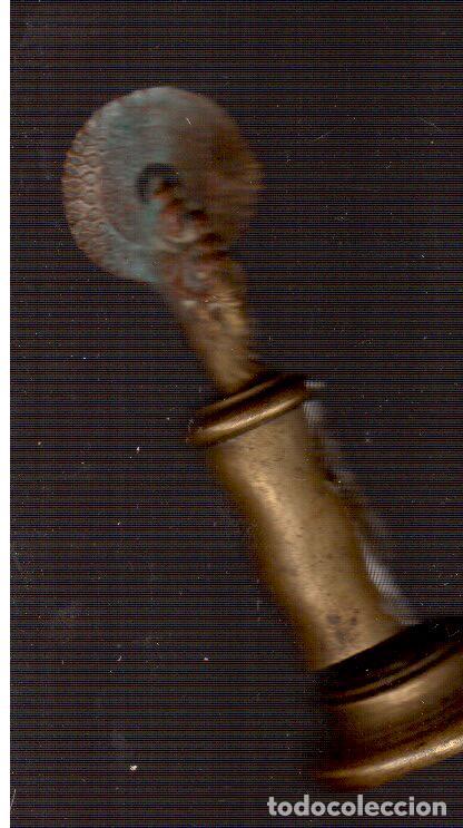 VIRGEN DEL PILAR MUY ANTIGUA (Antigüedades - Religiosas - Artículos Religiosos para Liturgias Antiguas)