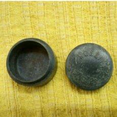 Antigüedades: CAJA BAQUELITA GRIS MARCA ROSSITA MEDIDAS 10MM X 250MM.. Lote 146941353