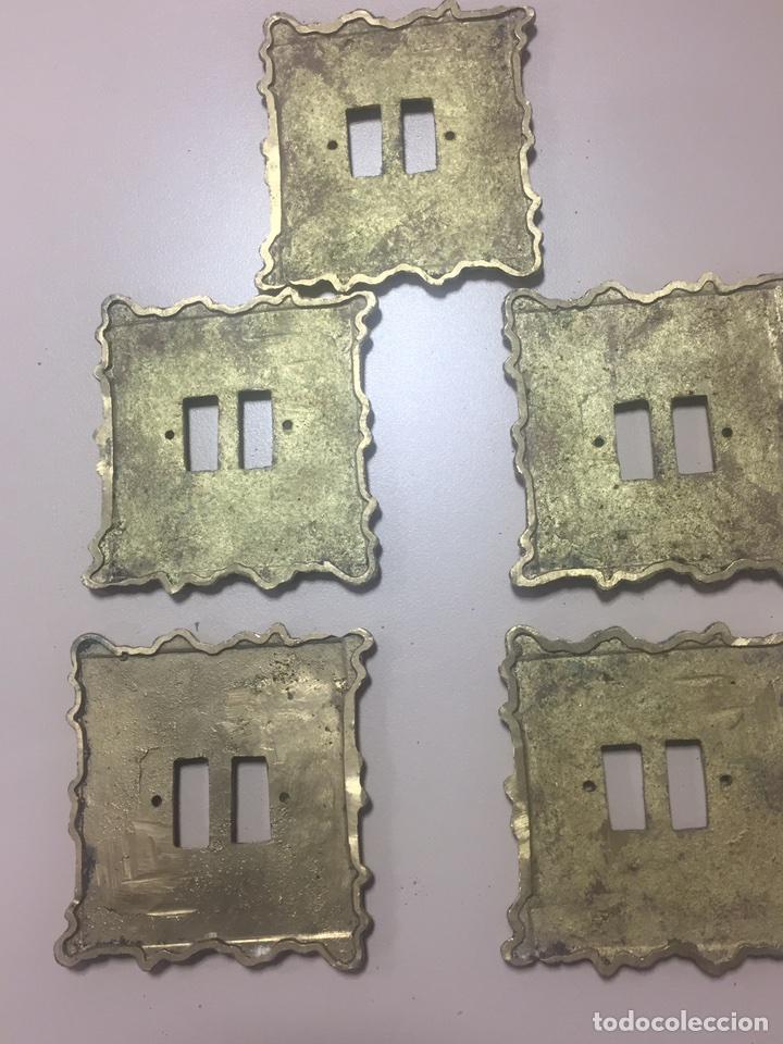 Antigüedades: Lote cinco apliques de pared - Foto 3 - 146960632