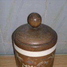Antigüedades: PURERA DE MADERA. Lote 146997230