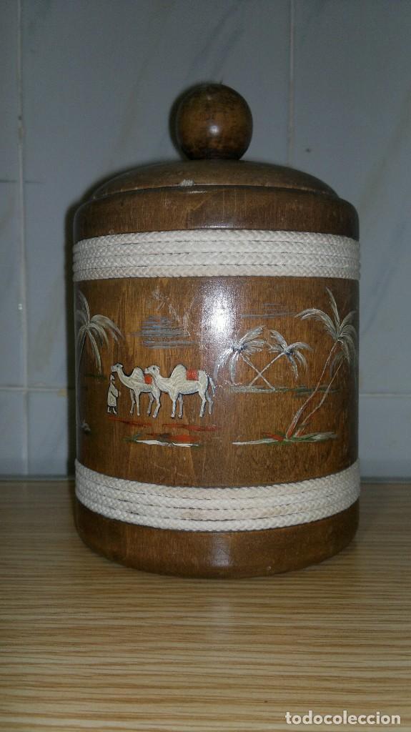 Antigüedades: Purera de madera - Foto 2 - 146997230