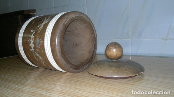 Antigüedades: Purera de madera - Foto 3 - 146997230