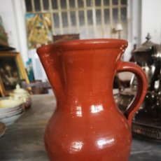 Antigüedades: JARRA DE BARRO VIDRIADO, CERAMICA POPULAR.. Lote 147034400