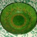 Antigüedades: FUENTE DE CERAMICA GONGORA - UBEDA.. Lote 147112350