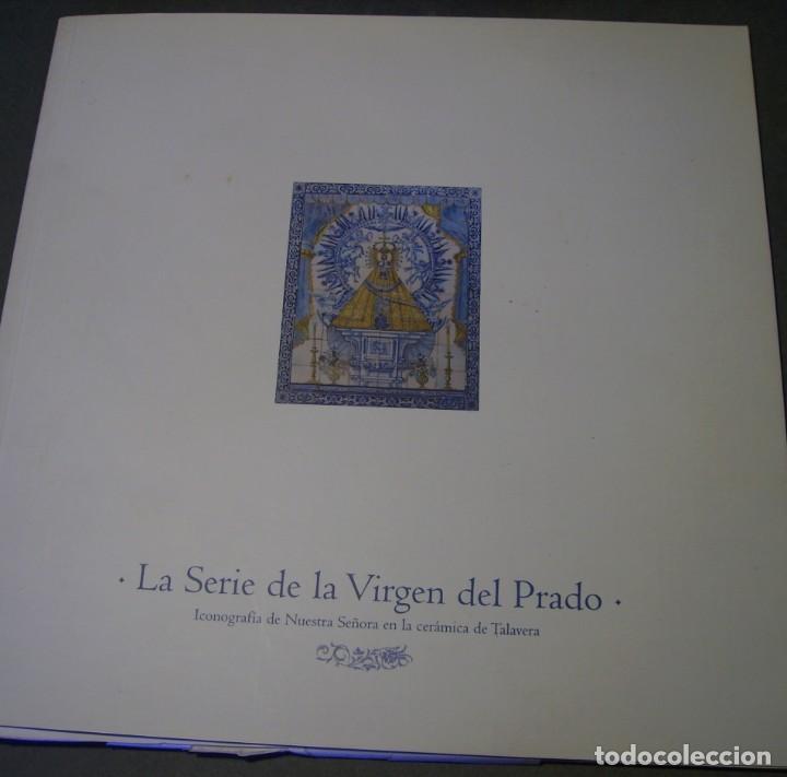 Antigüedades: GRAN BOTIJO CERÁMICA TALAVERA XIX ( VIRGEN DEL PRADO ) - Foto 27 - 147127046