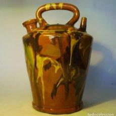 Antigüedades: GRAN BOTIJO TERRISSA CATALANA XX. Lote 147129866