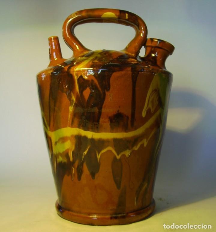 Antigüedades: GRAN BOTIJO TERRISSA CATALANA XX - Foto 2 - 147129866
