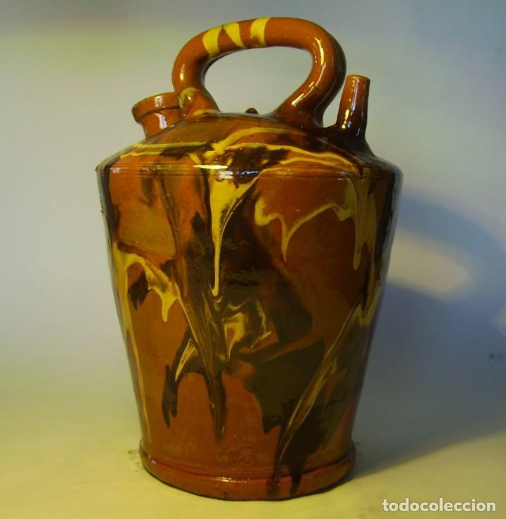 Antigüedades: GRAN BOTIJO TERRISSA CATALANA XX - Foto 4 - 147129866