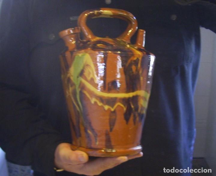 Antigüedades: GRAN BOTIJO TERRISSA CATALANA XX - Foto 9 - 147129866