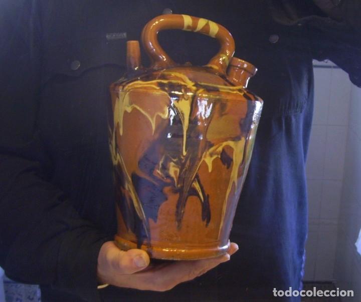 Antigüedades: GRAN BOTIJO TERRISSA CATALANA XX - Foto 10 - 147129866