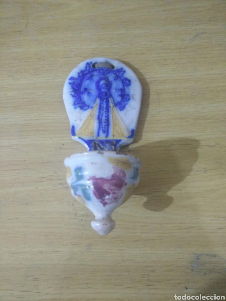 BENDITERA DE TALAVERA (Antigüedades - Porcelanas y Cerámicas - Talavera)