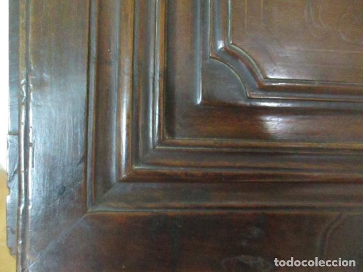 Antigüedades: Canterano Catalán (Torroella, Empordà) - Escritorio - Madera de Nogal y Marquetería - S. XVIII - Foto 19 - 147134814