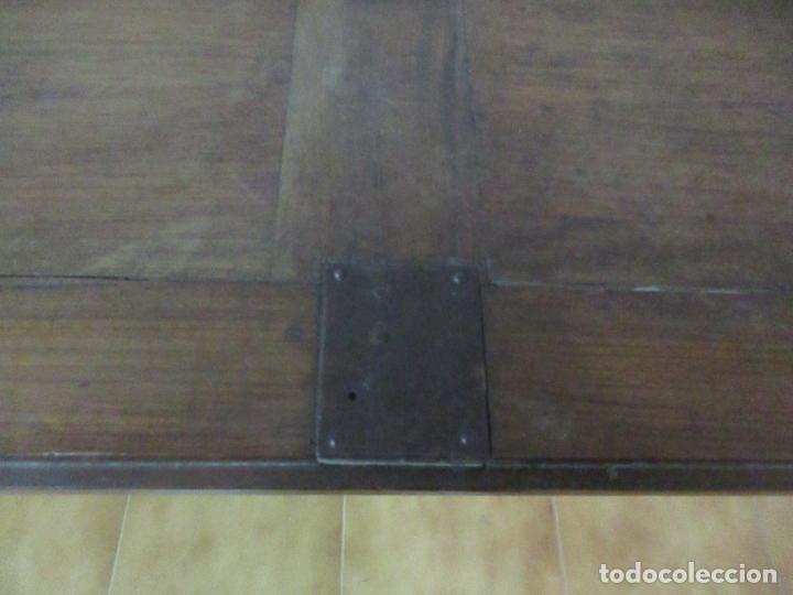 Antigüedades: Canterano Catalán (Torroella, Empordà) - Escritorio - Madera de Nogal y Marquetería - S. XVIII - Foto 27 - 147134814