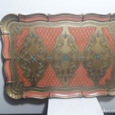 Antigüedades: BANDEJA DE CHAPA. Lote 147156782