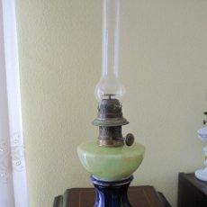 Antigüedades: ANTIGUA LAMPARA QUINQUE DE ACEITE . Lote 147161330