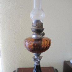 Antigüedades: ANTIGUA LAMPARA QUINQUE DE ACEITE . Lote 147163370