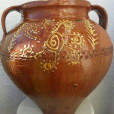 Antigüedades: TINAJA ORZA DE CERÁMICA ANTIGUA VILLAFRANCA DE LOS BARROS. Lote 147179117