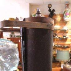 Antigüedades: PORTADOCUMENTOS EN MADERA Y CUERO. Lote 147197096