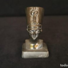 Antigüedades: FIGURA REINA FARAONA NEFERTITI. Lote 147202746