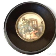 Antigüedades: CUADRITO ANTIGUO. Lote 147210686