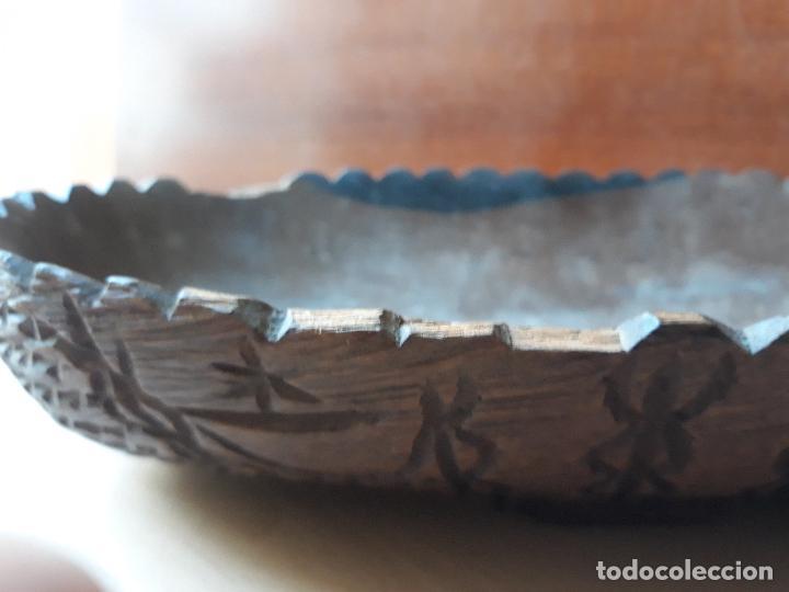 Antigüedades: Cuenco de madera tallado - Foto 5 - 147212970