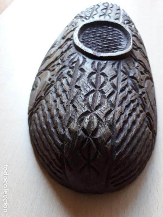 Antigüedades: Cuenco de madera tallado - Foto 8 - 147212970
