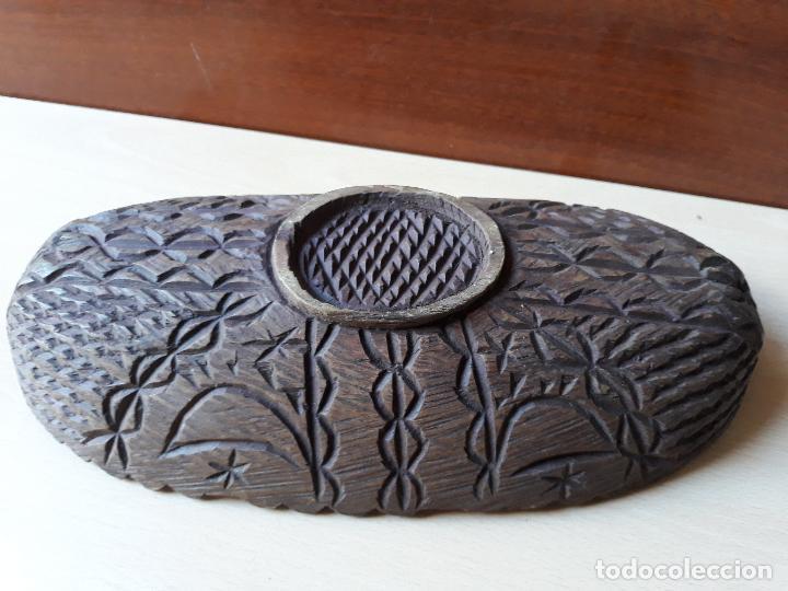 Antigüedades: Cuenco de madera tallado - Foto 11 - 147212970