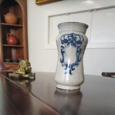 Antigüedades: ALBARELO O BOTE DE FARMACIA SIGLO XVII. Lote 145583674