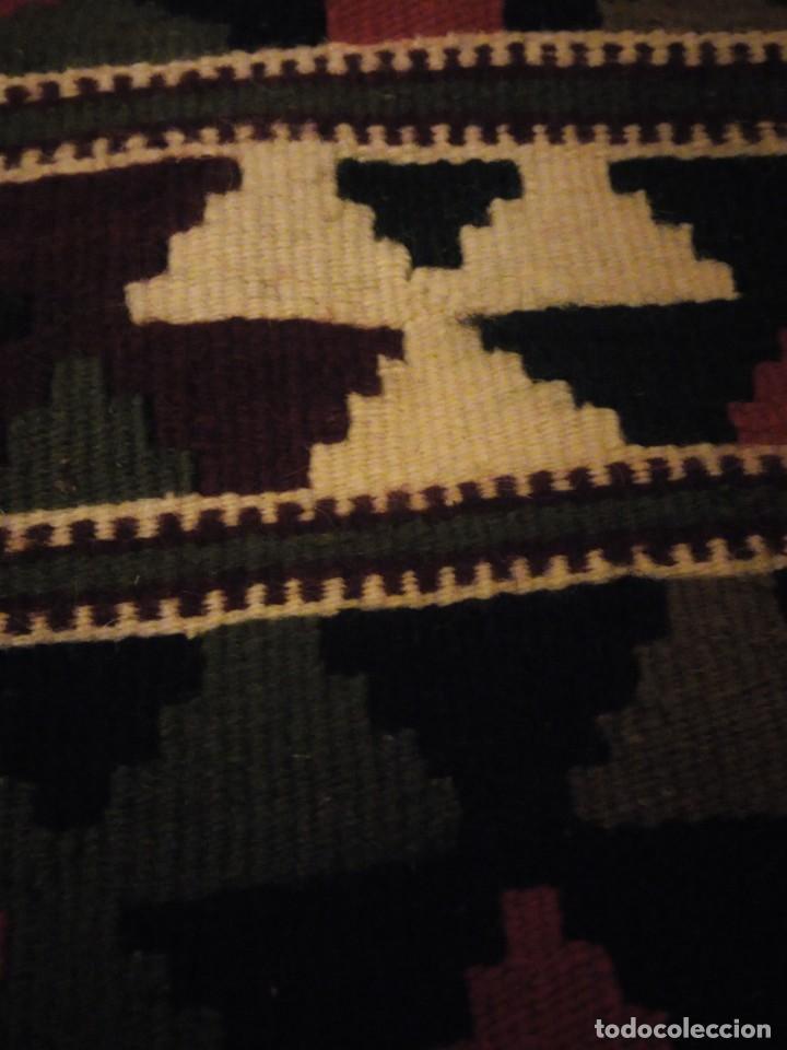 Antigüedades: Precioso tapiz azteca,colores vivos hecho a mano. - Foto 4 - 147217230