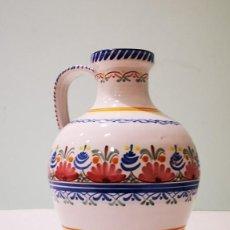 Antigüedades: JARRA DE AGUA DE CERÁMICA DE PUENTE DEL ARZOBISPO.. Lote 147229238