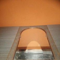 Antigüedades: ESPEJO ÁRABE CON PRECIOSO MARCO (SALIDA 1€). Lote 147238414