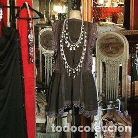 VESTIDO ART DÉCO (Antigüedades - Moda y Complementos - Mujer)
