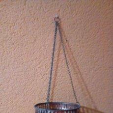 Antigüedades: MACETERO DE COBRE. Lote 147290450