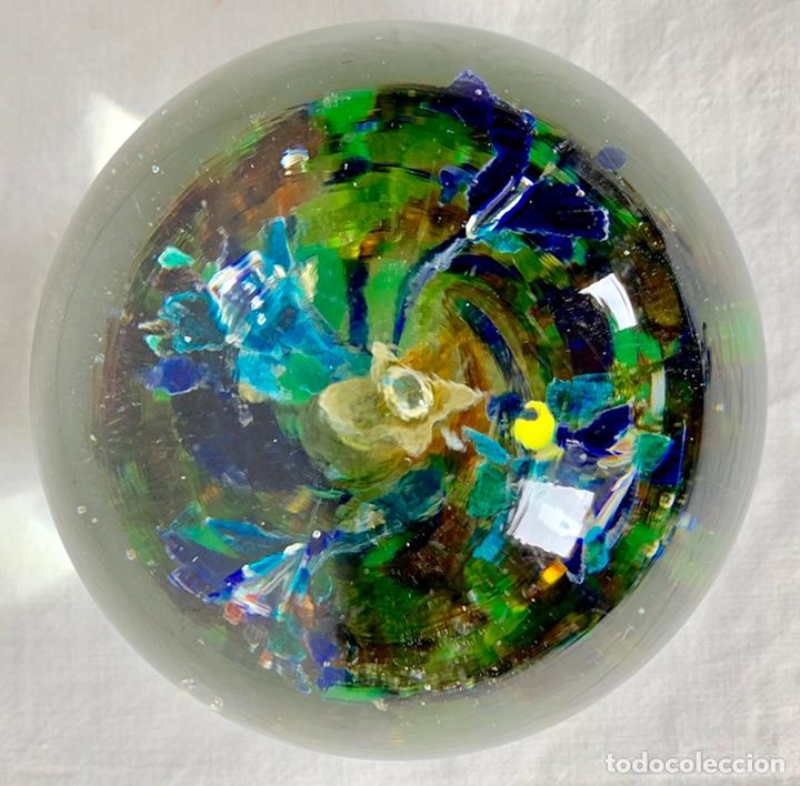Antigüedades: Antiguo pisapapeles en cristal soplado de Murano - Foto 2 - 147300134