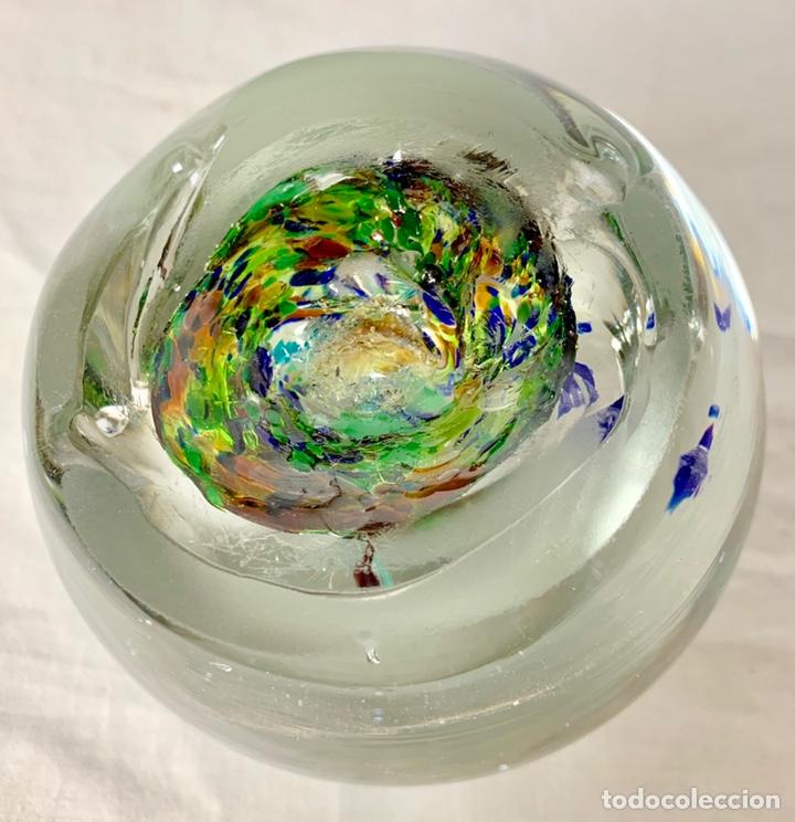 Antigüedades: Antiguo pisapapeles en cristal soplado de Murano - Foto 3 - 147300134