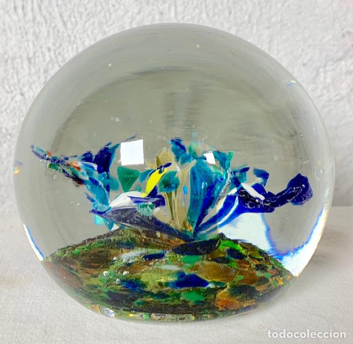 Antigüedades: Antiguo pisapapeles en cristal soplado de Murano - Foto 4 - 147300134