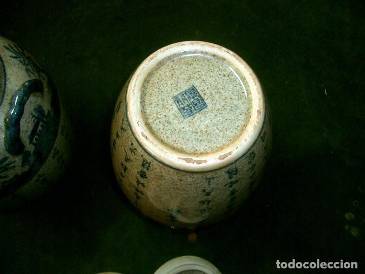 Antigüedades: Jarrones chinos mediados siglo XX. - Foto 6 - 147303106