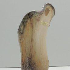 Antigüedades: EXCELENTE JARRON DE CRISTAL Y PLATA DE LEY PRECIOSO OBJETO DE DECORACION SENSERRICH. Lote 147305090