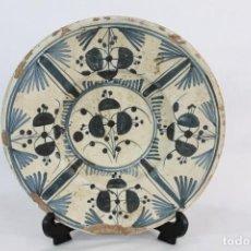 Antigüedades: PLATO CATALAN SXVIII - LA CIRERETA - ARRECADA - 20CMS. Lote 147306050