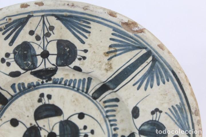 Antigüedades: Plato Catalan SXVIII - La Cirereta - Arrecada - 20cms - Foto 3 - 147306050
