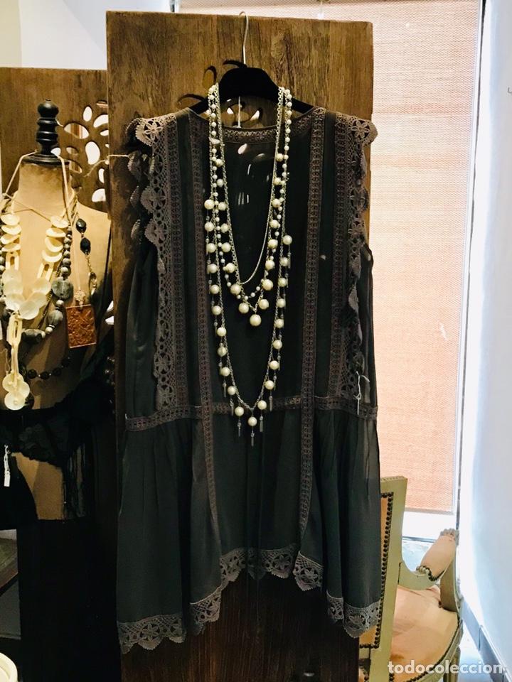 Antigüedades: Vestido Art Déco - Foto 2 - 147263601