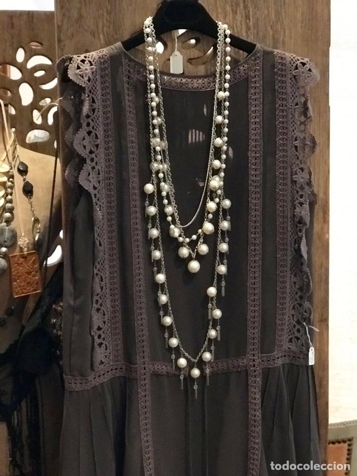 Antigüedades: Vestido Art Déco - Foto 7 - 147263601