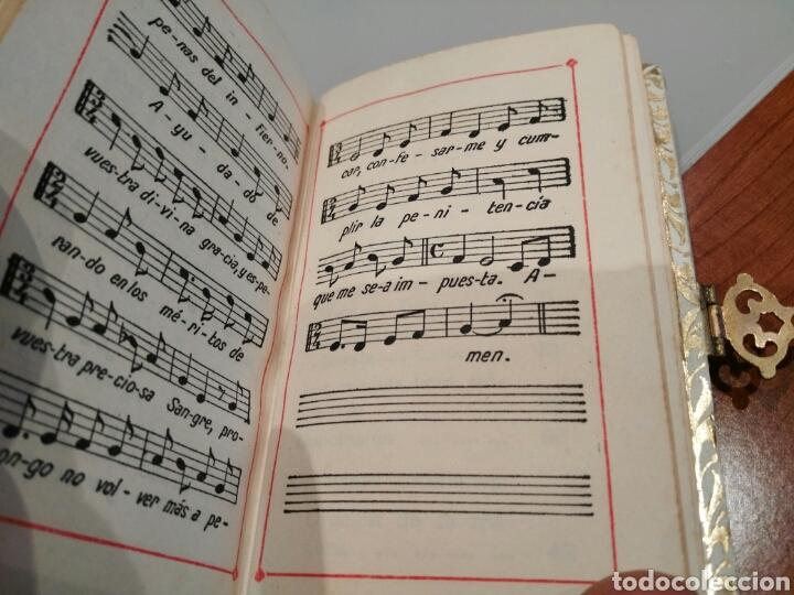 Antigüedades: Libro de comunión antiguo. - Foto 6 - 147333389