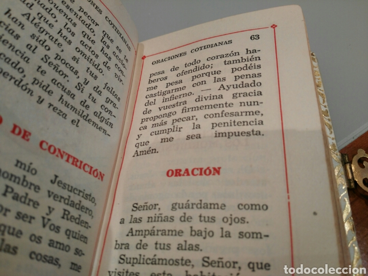 Antigüedades: Libro de comunión antiguo. - Foto 7 - 147333389