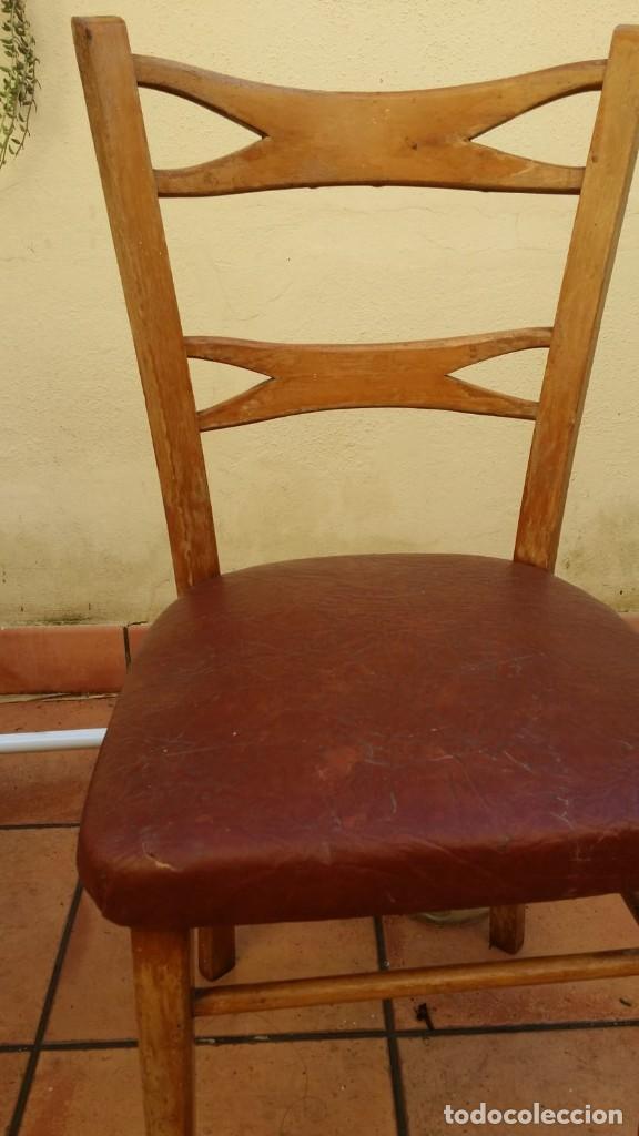 Antigüedades: mocholi original con sello, estillo chipendale - Foto 2 - 147343458