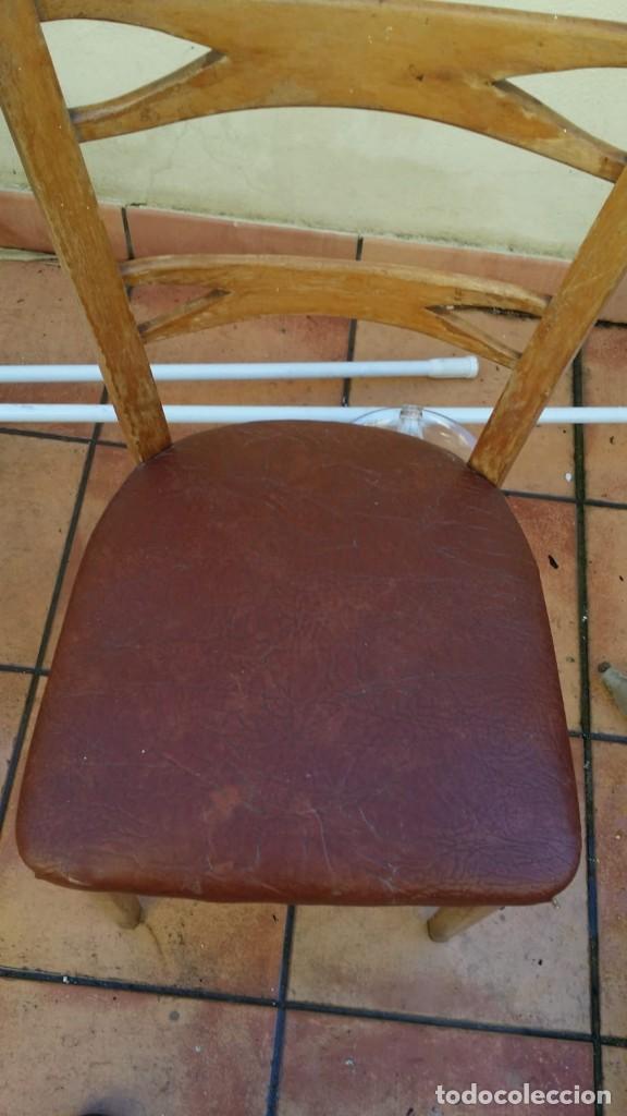 Antigüedades: mocholi original con sello, estillo chipendale - Foto 3 - 147343458